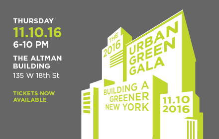 The 2016 Urban Green Council Annual Gala