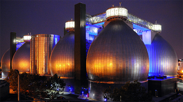 Newtown Creek Digester Eggs