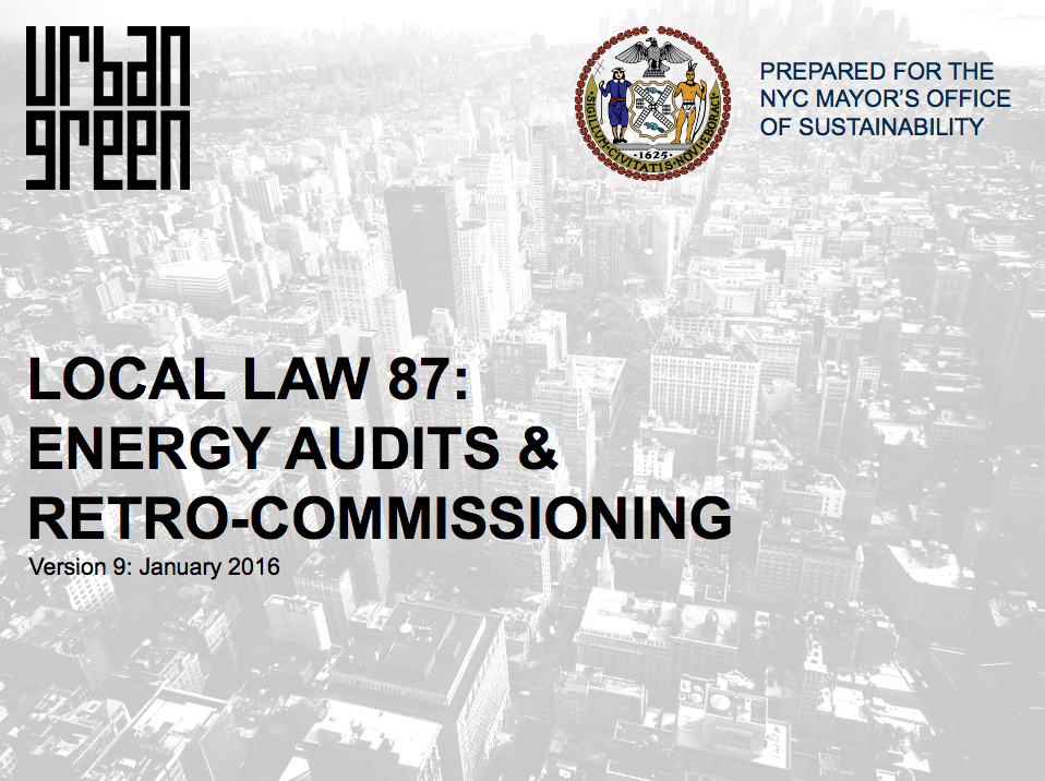 Local Law 87 Presentation