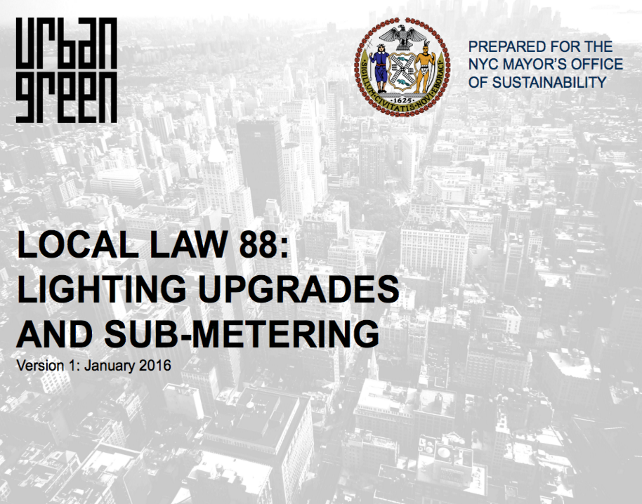 Local Law 88 Presentation